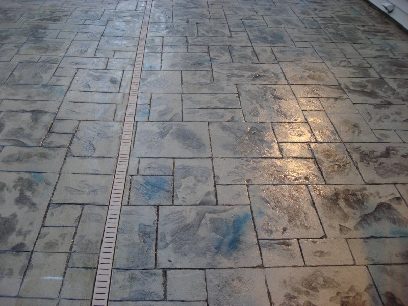 Stamped Concrete Installer Spring S Pools And Spas